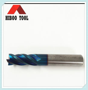 Z4 Blue Nano Coated Cutting Tool for Steel pictures & photos