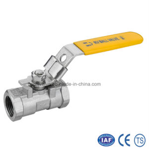 Stainless Steel Inside Thread 1PC Floating Ball Valve pictures & photos