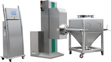 Htd-1200 High Efficient Automatic Bin Blender for Pharmaceutical/Foostuff Powder/Granule/Fine Powder pictures & photos