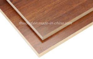 Melamine Faced MDF Board for Furniture and Decoration pictures & photos