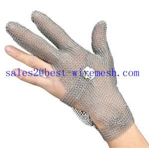 Chain Mail Stainless Steel Protective Gloves/ Butcher Safety Glove/Cut Resistant Glove pictures & photos