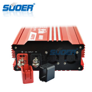 Suoer 24V 220V 600W Grid Tie Solar Power Inverter (GTI-H600B) pictures & photos