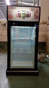 Mini Display Freezer Gelato Display Freezer Single-Temperature Upright Display Freezer pictures & photos