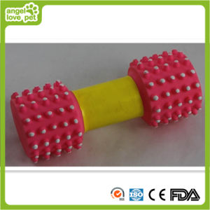 Dog Toy Vinyl Barbell Toy pictures & photos