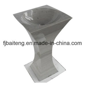 Cone-Shape Marble Pedestal Sinks pictures & photos