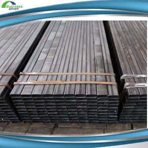 Ms ERW Black Square Hollow Section Steel Pipe/Tubes (rhs/Shs) pictures & photos