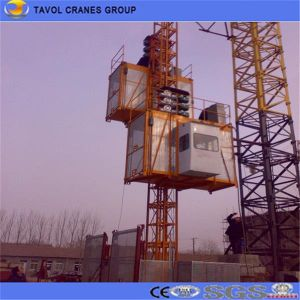 Construction Hoist for Lifting Construction Material pictures & photos