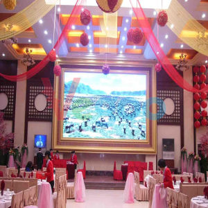 Vg Full Color HD Indoor LED Display Screen P4 pictures & photos