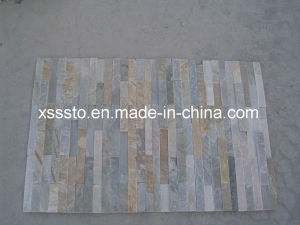 Wholesale Yellow Wooden Slate Stone Cladding with Best Price pictures & photos