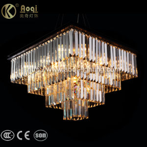 Modern Design Square Crystal Pendant Light pictures & photos