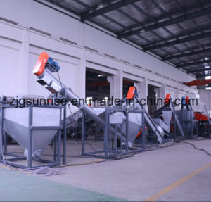 Waste Plastic Pet Bottle Crushing Washing Recycling Machine pictures & photos