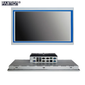 support windows or Linux system 21.5 inch hightness LCD touch screen embedded panel PC pictures & photos