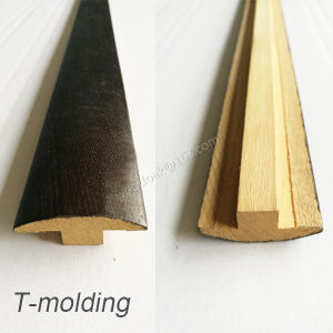MDF or Solid Wood T-Moulding /T-Molding pictures & photos