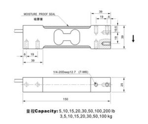 Single Point Load Cell (2) pictures & photos