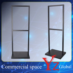 Display Stand (YZ161502) Poster Stand Sign Board Exhibition Stand Promotion Poster Frame Banner Stand Poster Board Store Stand Stainless Steel pictures & photos