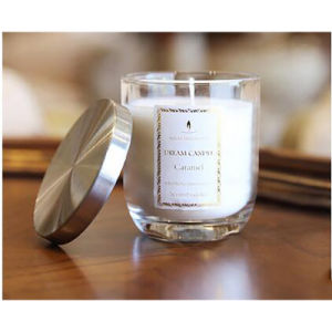 Calm Luxury Glass Candle with Metal Lid pictures & photos