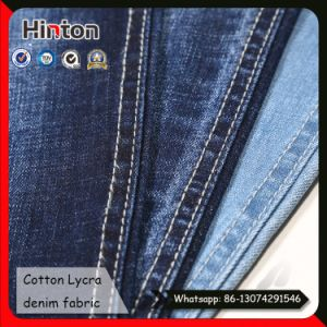 11.3 Oz Thick Denim Fabric Stretch Slub Denim Fabric pictures & photos