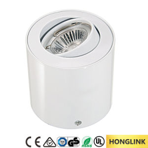 Adjustable Aluminum GU10 5W LED Ceiling Mount Light pictures & photos