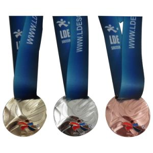 Custom High Quality Gold Silver Bronze Sports Medal
