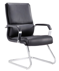 Chrome Metal PU Upholstery Leather Conference Boardroom Chair (HX-823D) pictures & photos