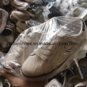 Mixed Types Injection Canvas Shoes Stocks Casual Shoes Cheap Price (FFCS505-1) pictures & photos