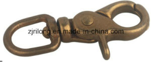 Hardware Polished Brass Snap Hook pictures & photos