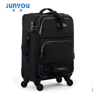 Hot Sale Fashion 4 Wheels 20 24 Inch Nylon Soft Luggage pictures & photos