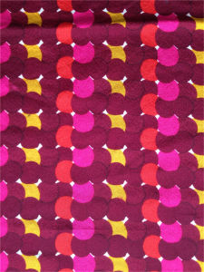 Printed Spandex Silk Cdc in Colorful Dots pictures & photos