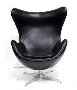 Modern High Quality Upholstered Classic Furniture Womb Metal Chair pictures & photos