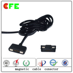 4pin Male and Female Magnetic Cable Connectors pictures & photos
