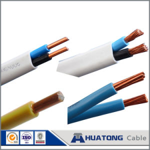 Cheap PVC Insulation PVC Jacket Flat Twin Wire Copper Wire pictures & photos