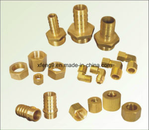 Brass Male Hose Barb Adapter Fitting (1/2*3/4) pictures & photos