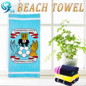Promotional Velour Printed Beach Towel pictures & photos