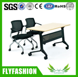 Office Folding Meeting Desk with Chair for Training pictures & photos