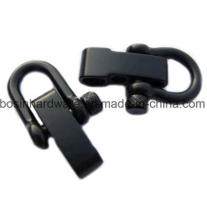 Black Knurled Adjustable Stainless Steel Shackle pictures & photos