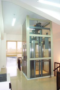 Quality Vvvf Gearless Machine Roomless Passenger Home Villa Elevator pictures & photos