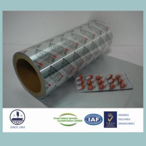 8011 Alloy Heat-Sealed Aluminum Foil for Pharmaceutical Packaging pictures & photos
