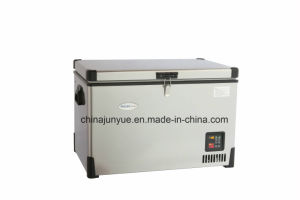 12V 24V DC Container Freezer Solar Refrigerator Fridge 12V DC Stainless Steel Freezer Deep Freezer Refrigerator Bd/Bc-92L pictures & photos