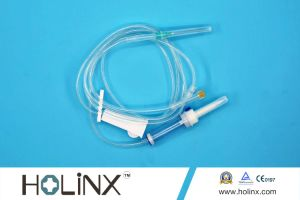Infusion Set with Air Vent Filter pictures & photos
