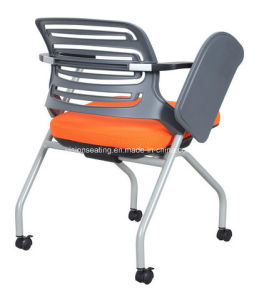 Conference Meeting Room Chair with Wheels and Writing Tablet (6203) pictures & photos
