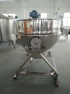 Stainless Steel 1200L Tilting Gas Cooking Pot pictures & photos