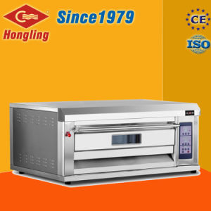 Factory Price Single Deck/Double Tray Luxury Gas Oven for Sale pictures & photos