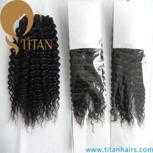 5A Grade Brazillian Virgin Hair Kinky Curky Hair Weave pictures & photos