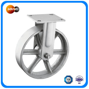 Heavy Duty Steel Rigid Casters pictures & photos