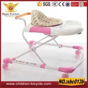 Selling 4wheels Super Light Pink Girl Products for Baby Walker pictures & photos