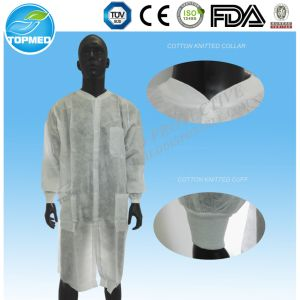 Cotton Coat for Doctor Short Sleeve Lab Coats Wholesale pictures & photos