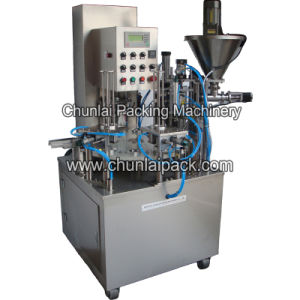 Rotary Type Coffee Powder Cup Filling and Sealing Machine pictures & photos