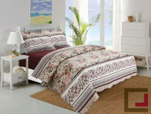 Super Soft Microfiber Ultrasonic Comforter Set pictures & photos