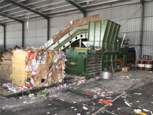 Hpm125 Horizontal Paper/Plastic Baler Machine pictures & photos