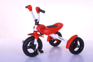 Children Tricycle with Handle Bar Kids Dirt Tricycle Trike Baby Bicycle Kids 3 Wheel Tricycle Trike pictures & photos